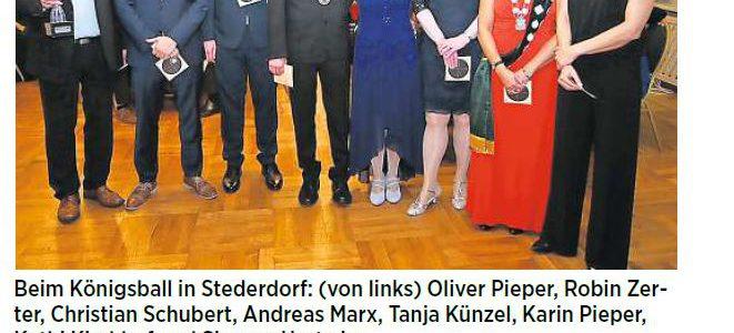 """PAZ: Stederdorfer haben eine """"königliche Familie"""""""