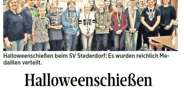 PAZ: Halloweenschießen des SV Stederdorf