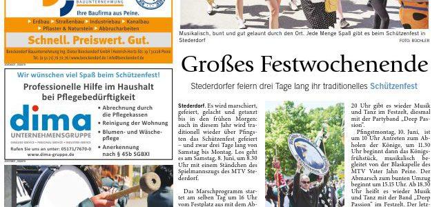 PAZ: Schützenfest in Stederdorf