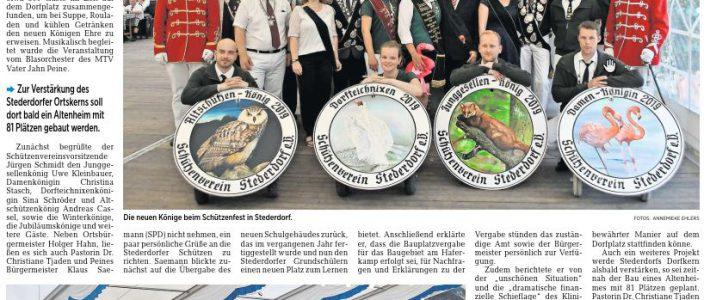 PAZ: Stederdorfer Königsfrühstück: 300 Gäste feiern mit