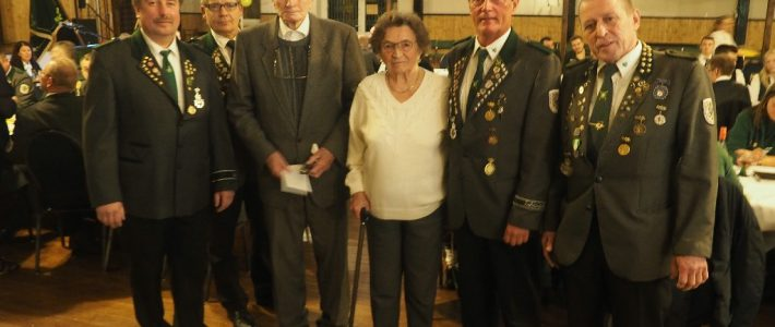 Mitgliederversammlung Schützenverein 2019