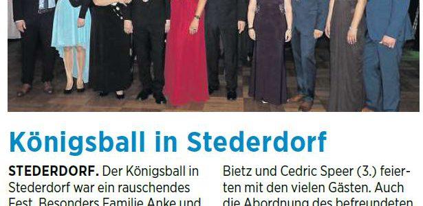 PAZ: Königsball in Stederdorf